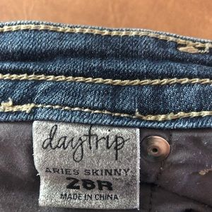 Buckle Daytrip Aries Skinny Jeans